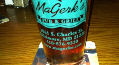 Photo of Bar MaGerks Pub & Grill at 1061 S Charles St, Baltimore, MD 21230, United States