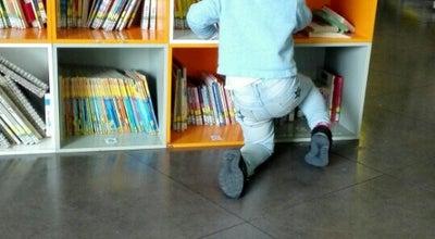 Photo of Library Biblioteca Internazionale per Ragazzi De Amicis at Magazzini Del Cotone, Genova, Italy