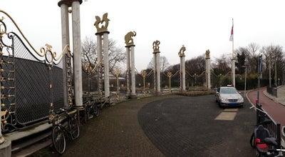 Photo of Monument / Landmark Oude hoofdentree Diergaarde Blijdorp at Van Aerssenlaan 49, Rotterdam 3039 KE, Netherlands