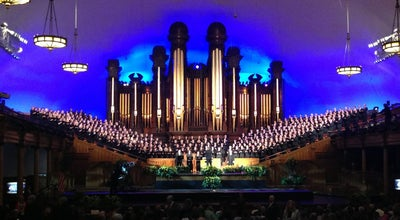 Photo of Spiritual Center Salt Lake Tabernacle at 50 W North Temple, Salt Lake City, UT 84150, United States