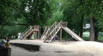 Photo of Playground Детская площадка в Парке at Парк Ім. Шевченка / Shevchenko Park, Ровно, Ukraine