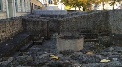 Photo of Historic Site Memi pasa fürdője at Ferencesek Utcája 35-37., Pécs 7621, Hungary