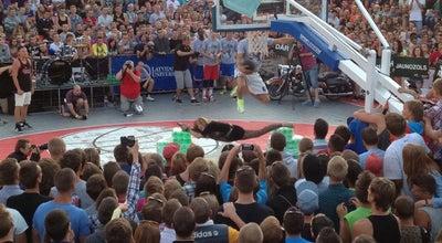 Photo of Basketball Court Ghetto Games | Grīziņkalna skeitparks at Pērnavas, Rīga, Latvia