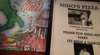 Photo of Italian Restaurant Nino's Pizza at 4835 W 111th St, Alsip, IL 60803, United States