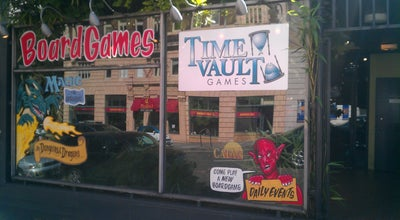 Photo of Toy / Game Store Time Vault Games at 1224 Sw Broadway, Portland, OR 97205, United States