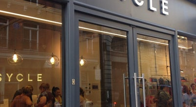 Photo of Cycle Studio Psycle at 76 Mortimer St, London W1W 7SA, United Kingdom