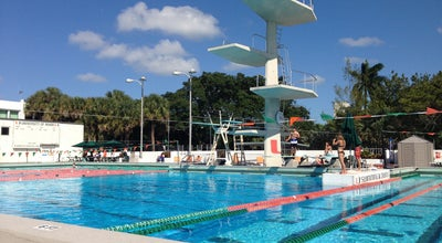 Photo of Pool University of Miami Pool at 1306 Stanford Drive, Coral Gables, FL 33146, United States