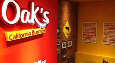 Photo of Burrito Place Oak's California Burritos at R. Félix Da Cunha, 1215, Lj. 4 E 5, Porto Alegre 90570-000, Brazil