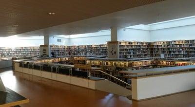 Photo of Library Lapin Maakuntakirjasto at Jorma Eton Tie 6, Rovaniemi 96100, Finland