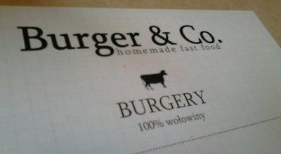 Photo of Burger Joint Burger & Co. at Ul. Bodzentyńska 3/1, Kielce 25-308, Poland