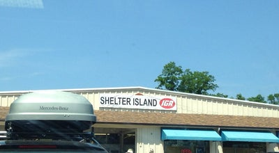 Photo of Grocery Store Shelter Island IGA at 75 N Ferry Rd, Shelter Island, NY 11964, United States