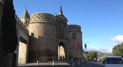 Photo of Historic Site Puerta antigua de Bisagra at Toledo, Spain