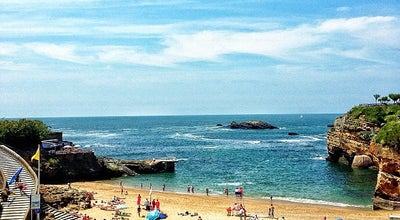 Photo of Beach Plage du Port Vieux at Esplanade Du Port Vieux, Biarritz 64200, France