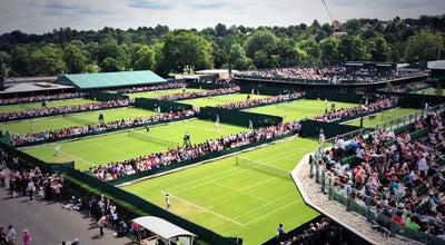 Photo of Tennis The All England Lawn Tennis Club at Church Rd, Wimbledon SW19 5AE, United Kingdom