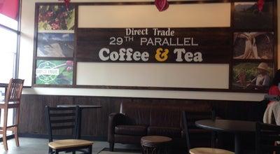 Photo of Cafe 29th Parallel Coffee & Tea at 10160 Fairfax Blvd, Fairfax, VA 22030, United States
