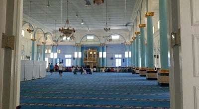 Photo of Mosque Masjid Jamek Sultan Ibrahim, Muar at Jalan Peteri, Muar, Muar, Malaysia