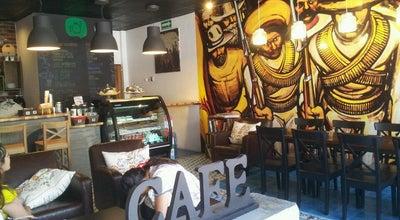 Photo of Coffee Shop Bendita Patria Café at Comonfort / Dr. Hoefer Y Dr. Paliza, Hermosillo 83200, Mexico