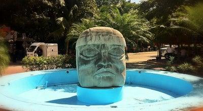 Photo of Monument / Landmark Glorieta Cabeza Olmeca at Av. Constituyentes, Playa del Carmen 77710, Mexico