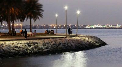 Photo of Beach كورنيش الدمام- دوار السفينة at المباركية, الدمام, Saudi Arabia