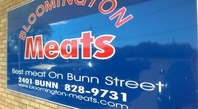 Photo of Butcher Bloomington Meats at 2401 Bunn St, Bloomington, IL 61704, United States
