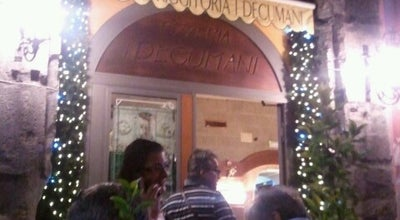 Photo of Pizza Place I Decumani at Via Dei Tribunali 58, Napoli 80138, Italy