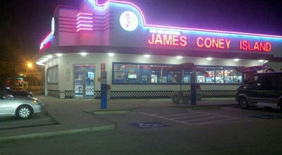 Photo of Hot Dog Joint James Coney Island at 9813 Fm 1960 Bypass Rd W, Humble, TX 77338, United States