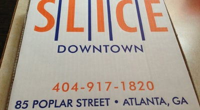 Photo of Lounge Slice at 85 Poplar St Nw, Atlanta, GA 30303, United States