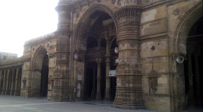 Photo of Historic Site Jama Masjid at Teen Darwaja, Ahmedabad 380001, India