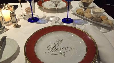 Photo of Italian Restaurant Il Desco at Via Dietro San Sebastiano, 7, Verona 37121, Italy