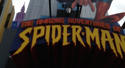 Photo of Theme Park Spiderman Meet And Greet at Orlando, FL, United States