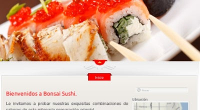 Photo of Japanese Restaurant Bonsai Sushi at Chacabuco, Castro, Chile