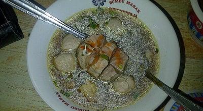 Photo of Asian Restaurant Baso A'Tatang at Depan Perum Sukaseuri, Campaka, Indonesia