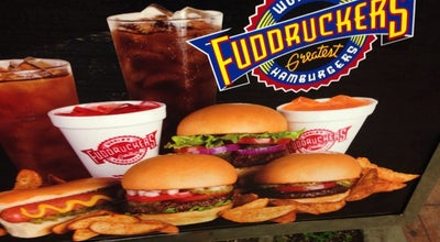 Photo of Burger Joint Fuddruckers at 7802 Orangethorpe Ave, Buena Park, CA 90621, United States