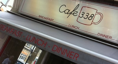 Photo of Cafe Cafe 338 at 338 Bethnal Green Rd, London E2 0AG, United Kingdom