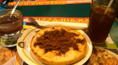 Photo of Pizza Place Pizza Ria Kafe at Ruko Ruby Panakkukang Mas Ii No. 12, Makassar 90231, Indonesia