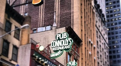 Photo of Irish Pub Connolly's Pub & Restaurant at 121 W 45th St, New York, NY 10036, United States