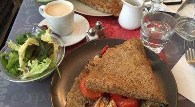 Photo of French Restaurant Little Breizh at 11 Rue Grégoire De Tours, Paris 75006, France