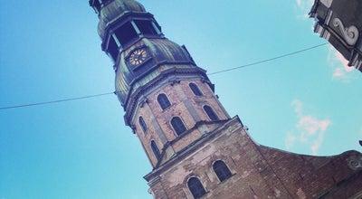 Photo of Church Pēterbaznīca | Sv. Pētera ev. lut. baznīca at Skārņu Ielā 19, Rīga LV-1001, Latvia