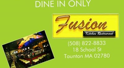 Photo of Sushi Restaurant FusionKitchen at 17 School St, Taunton, MA 02780, United States