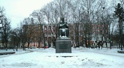 Photo of Monument / Landmark Памятник Салтыкову-Щедрину at Свободный Переулок, Tver', Russia