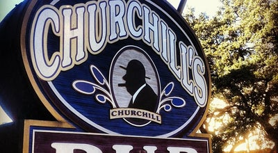 Photo of English Restaurant Churchill's Pub at 13 W Bay St, Savannah, GA 31401, United States