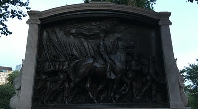 Photo of Historic Site Robert Gould Shaw Memorial at Beacon St, Boston, MA 02108, United States