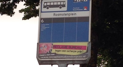Photo of Bus Stop Halte Rosmolenplein at Rosmolenplein, Tilburg, Netherlands