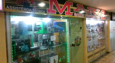 Photo of Arcade Mario Games at Vitória, Brazil