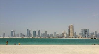 Photo of Beach Al Mamzar Beach شاطئ الممزر at Al Mamzar Road, Dubai, United Arab Emirates