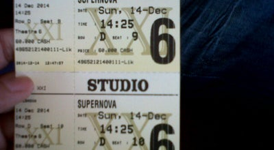 Photo of Movie Theater Studio 6 XXI Banjarmasin at Indonesia
