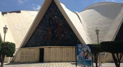 Photo of Church Iglesia Santa Monica at Fresas, Benito Juárez, Mexico