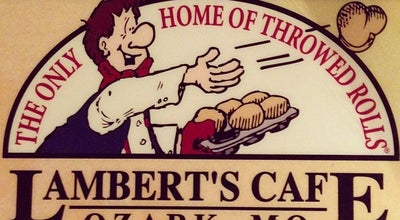 Photo of American Restaurant Lambert's Cafe at 1800 W State Highway J, Ozark, MO 65721, United States