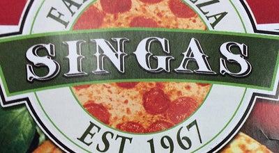 Photo of Restaurant Singas Famous Pizza at 8125 Lefferts Blvd, Kew Gardens, NY 11415, United States