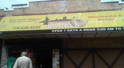 Photo of Bagel Shop Empire Bagels at 3101 Westchester Ave, Bronx, NY 10461, United States